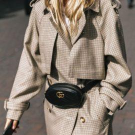 430a2e329dc 9 Gucci black leather belt bag