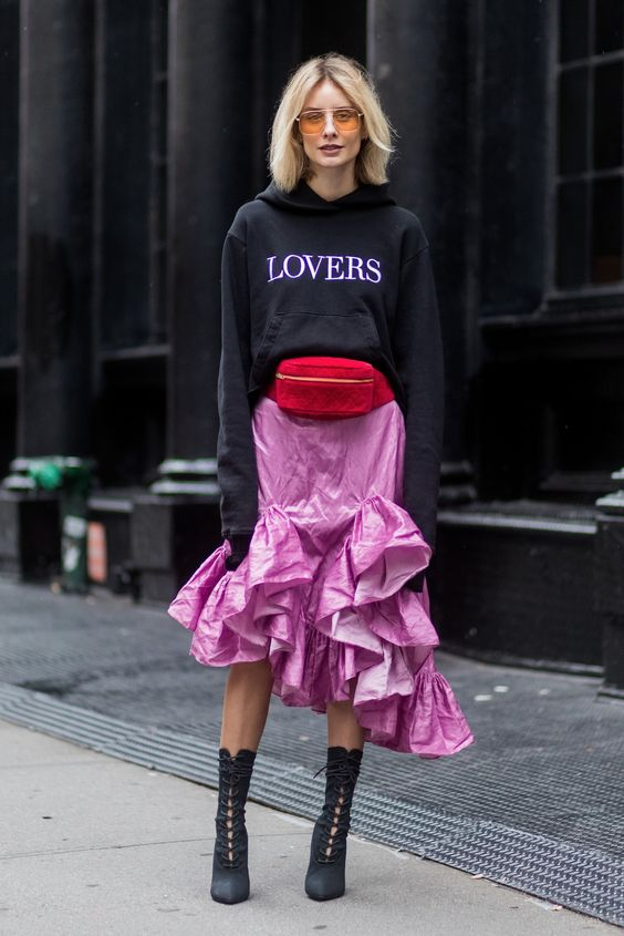 Image result for street style fanny pack
